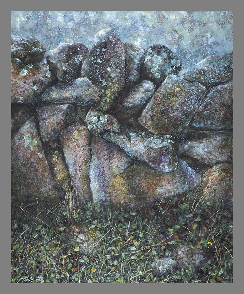 LUNA LLENA - Ol/Tb - 100x81 cm - 2010 - Gata de Gorgos