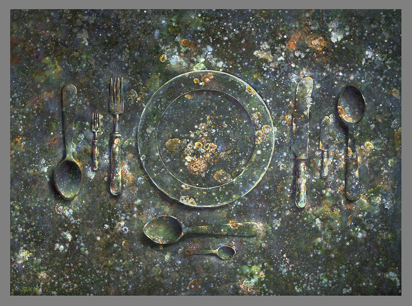 INFORMAL - Mx/Lz - 143x195 cm - 2015 Gata de Gorgos.