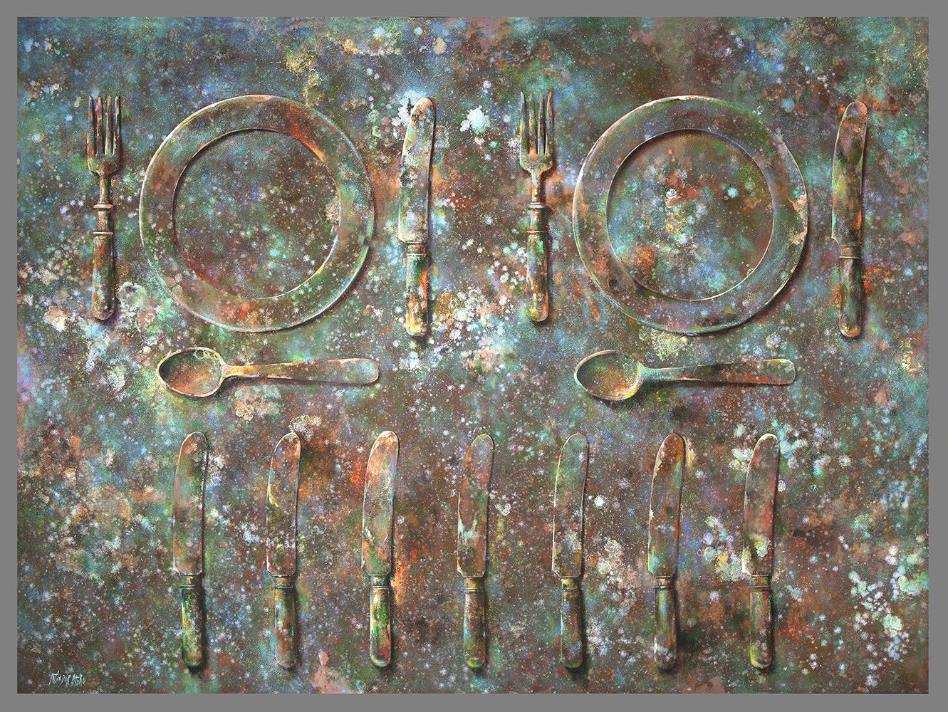 SIETE SON SIETE - Mx/Lz - 143x195 cm - 2015 - Gata de Gorgos.