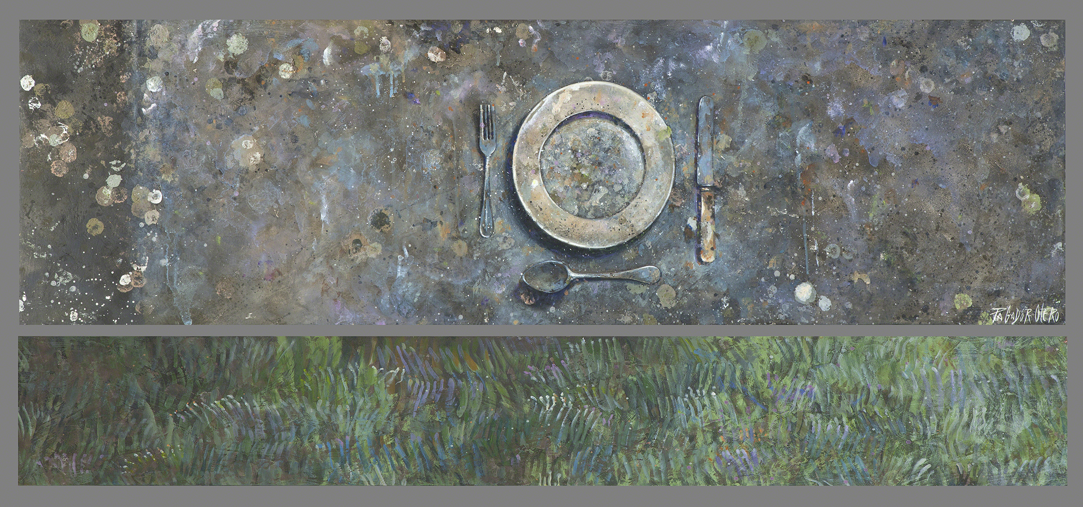 SIN TITULO - Mx/Tb - 71´5x155´5 cm -Jávea - 1998.