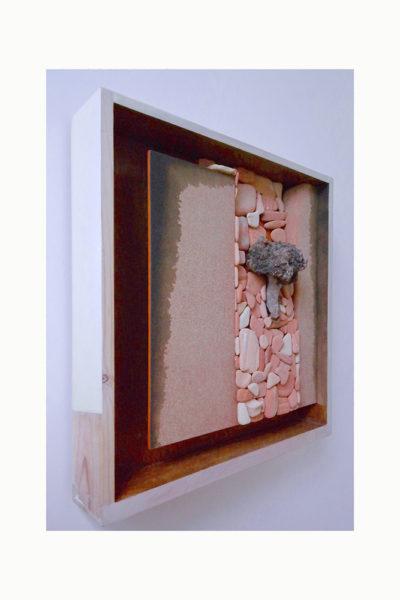 CAMINO ANTIGUO C - 39x42x11 cm - Reciclaje y Ensamblado - Serie Poemas Visuales - Proyecto S.O.S.tenible - 2013 - Gata de Gorgos.
