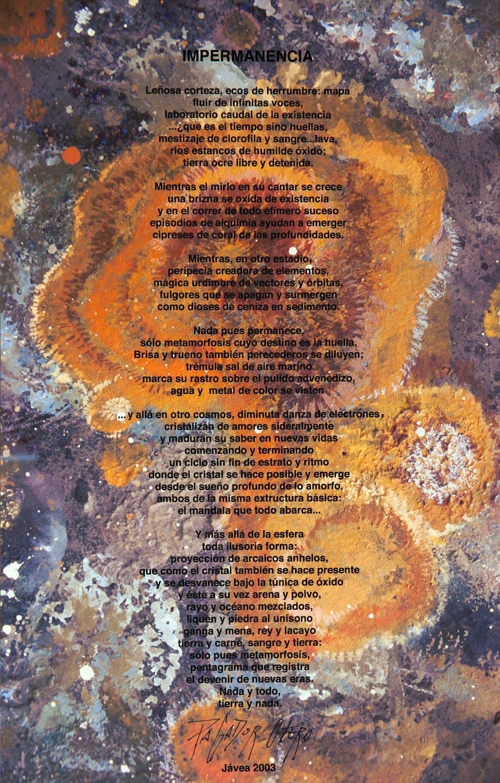 """""""IMPERMANENCIA"""" – 1999"""