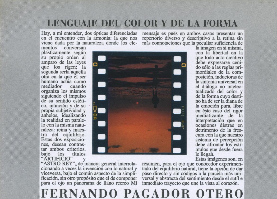 """LENGUAJE DEL COLOR Y DE LA FORMA"""" class="""