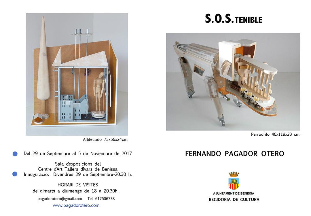 Exposición en Benissa 2017